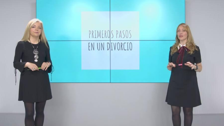 Información y consejos básicos para afrontar un divorcio
