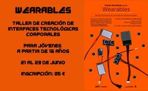 «Wearables». Taller para jóvenes en Arenas Movedizas