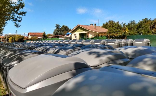 Emulsa busca refuerzos para sustituir en menos de un mes 300 contenedores