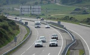 Las obras de reparación en la A-8 entre Colunga-Llanes obligarán al cierre parcial de carriles