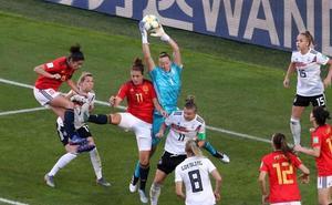 Una a una del Alemania-España