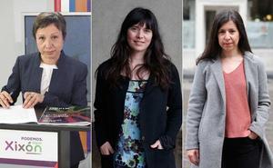 Las concejalas de Podemos se abstendrán en el pleno de investidura de Gijón