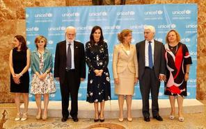 La reina Letizia entrega los Premios UNICEF Comité Español 2019 con numerosa presencia asturiana
