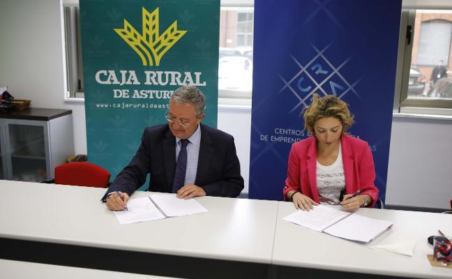 Valnalón y Caja Rural renuevan la financiación a emprendedores