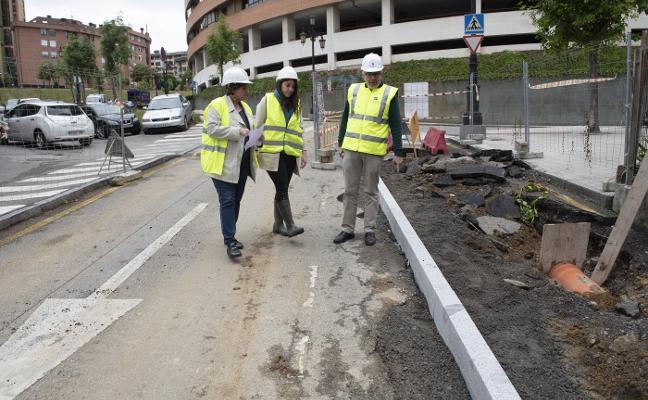Las pistas de San Lázaro podrán acoger grandes eventos con el nuevo acceso