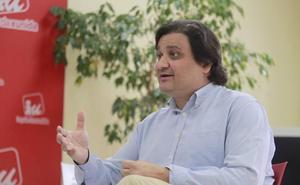 Alejandro Suárez asume las funciones de coordinación de IU hasta el nombramiento del nuevo responsable
