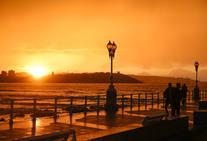 Las maravillas que regala el atardecer de Gijón