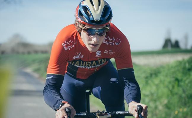 Iván Cortina se examina en Suiza antes del Tour