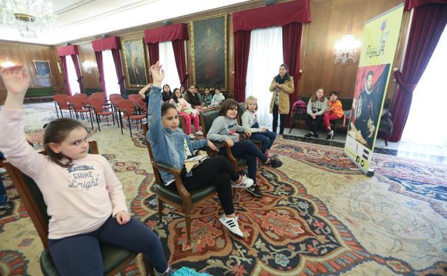 460 alumnos descubren el Avilés de Pedro Menéndez con Pamua