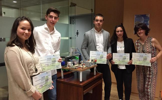 Premio en Madrid a los alumnos cangueses