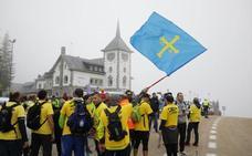 Las imágenes de la segunda jornada de la 'Marcha del Aluminio'