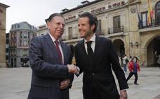 PP y Ciudadanos cierran un acuerdo para investir a Alfredo Canteli como alcalde de Oviedo