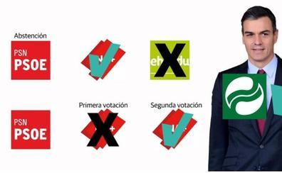 Navarra, primer paso hacia la legislatura de Sánchez