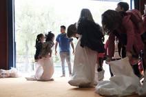 Los niños gijoneses abren la Feria de San Antonio
