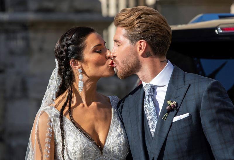 Sergio Ramos y Pilar Rubio, una boda excéntrica, polémica y glamurosa