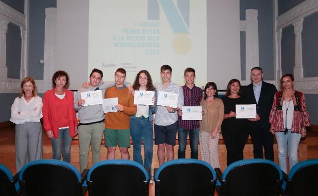 Premiu 'Fierro Botas' para los alumnos del IES Montevil