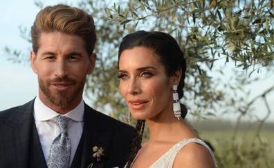 Sergio Ramos y Pilar Rubio celebran su boda