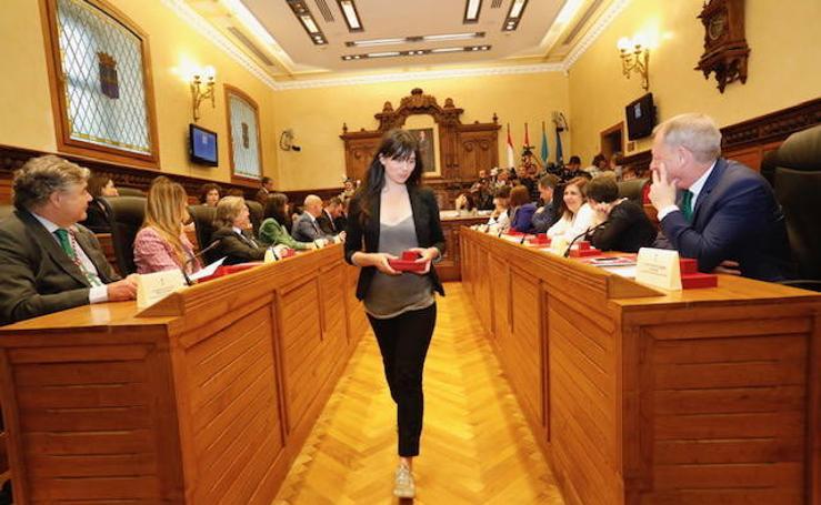 El pleno de investidura del Ayuntamiento de Gijón, en imágenes