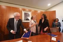 La investidura de Mariví Monteserín como alcaldesa de Avilés, en imágenes