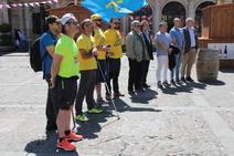 Tercera etapa de la 'Marcha del Alumnio', en imágenes