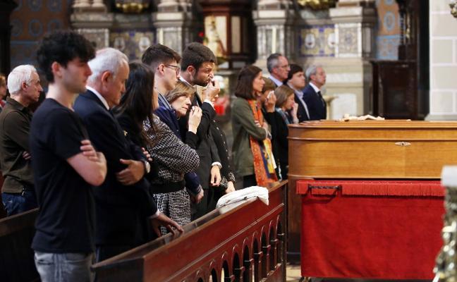 Funeral por la empresaria de la moda Mari Luz Cuesta