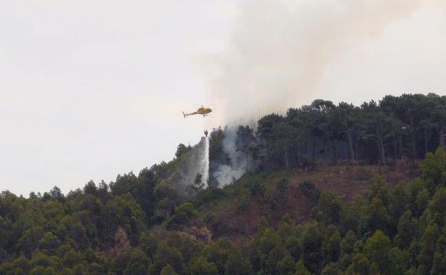 Un nuevo incendio en Bayas