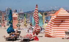 Domingo de sol y playa en Asturias