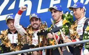 Fernando Alonso, campeón del mundo de Resistencia