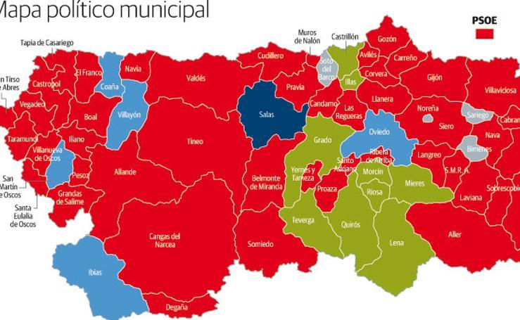 Mapa político municipal