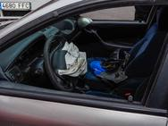 Accidente en La Calzada con dos heridos