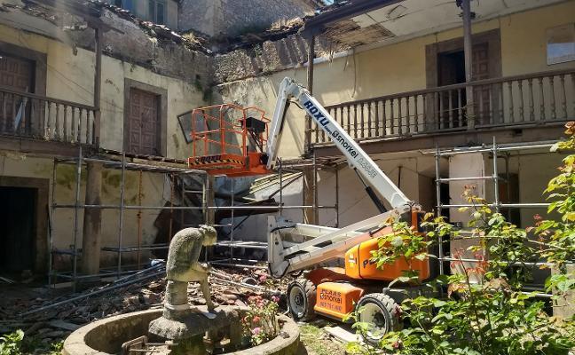 Comienza la rehabilitación del Palacio de Peñalver, junto al embalse de Trasona