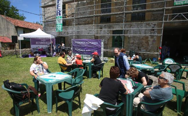 Encuentro festivo de Podemos Asturias