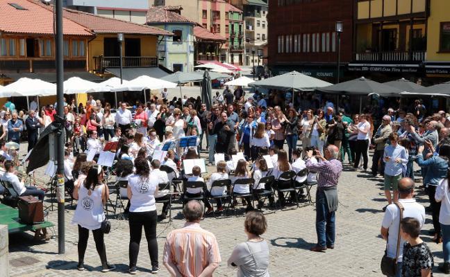 Primer festival infantil de Bandas de Música 'Villa de Mieres'