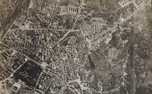 Sobrevolar Asturias en 1958