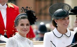 Las casas reales de España y Gran Bretaña se dan cita en Londres