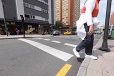 Atropellan a una mujer en la calle Jiménez Díaz de Avilés