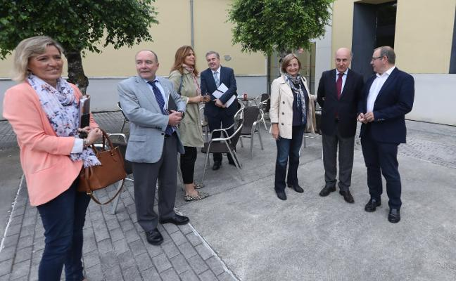 La alcaldesa de Avilés plantea mantener la sociedad de la Isla de la Innovación para coordinar su desarrollo