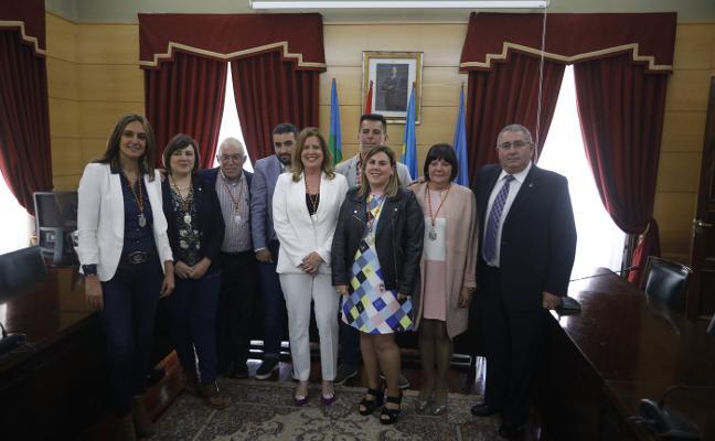 La socialista Carmen Arbesú diseña cinco grandes áreas para gobernar Langreo