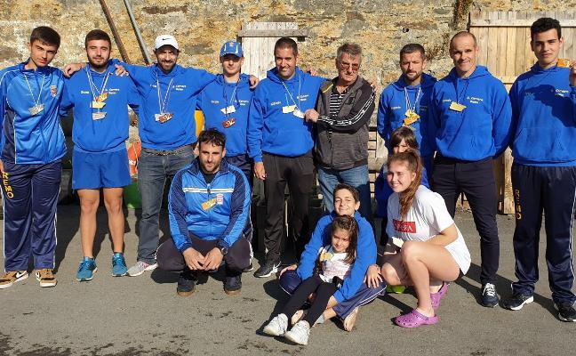 Muy buenos resultados para el Grupo Corvera en el regional absoluto