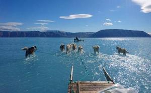 La asombrosa foto que alerta sobre la situación del deshielo en Groenlandia