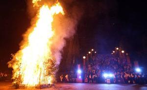 Canteli baraja el parque de Invierno para la hoguera de San Juan