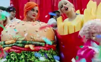 Taylor Swift y Katy Perry sellan la paz con 'You Need to Calm Down'