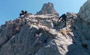 Así fue el rescate del niño gijonés perdido en Picos de Europa