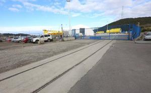 Concluyen las obras del acceso ferroviario a la margen derecha del puerto de Avilés