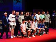 La Federación Asturiana de Balonmano celebra su gala anual en el Teatro de la Laboral