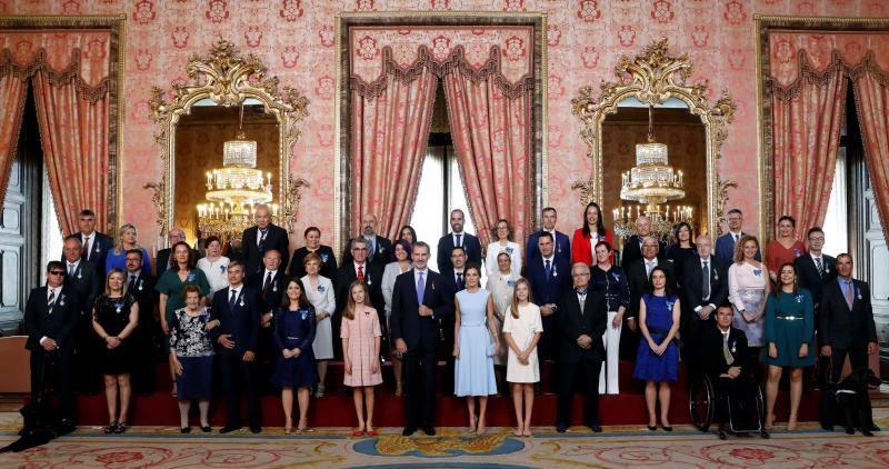 El Rey reconoce a 41 ciudadanos ejemplares para la sociedad civil