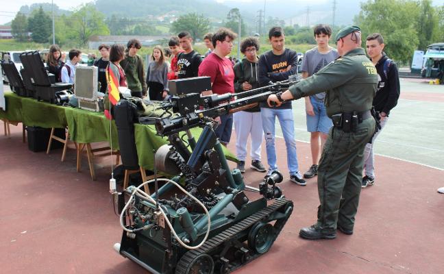 La Guardia Civil expone todo su potencial