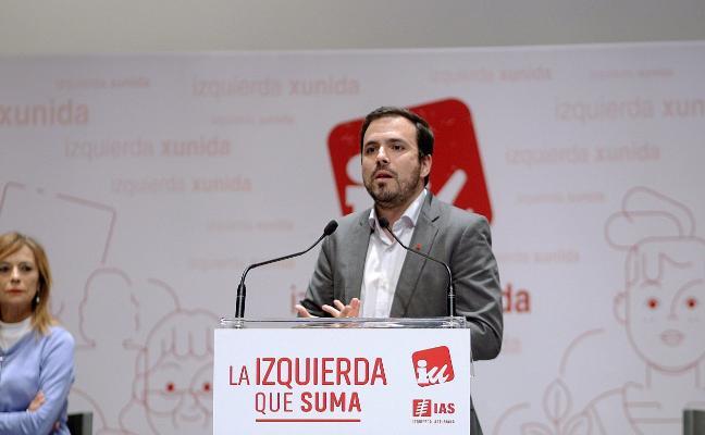 Garzón llama a la calma y pide «unidad» ante el riesgo de ruptura en IU de Asturias