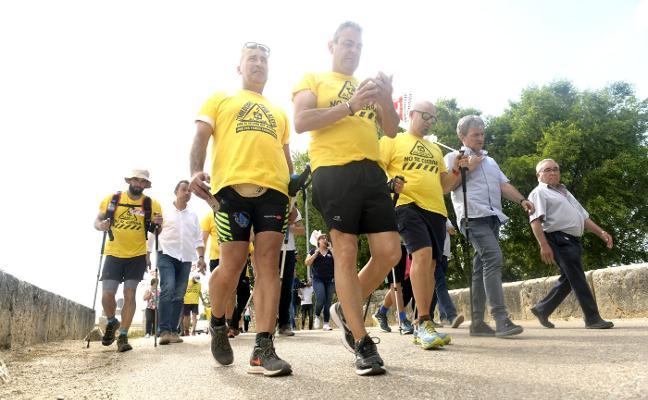 La 'Marcha del Aluminio', del entusiasmo al pesimismo en 40 kilómetros de recorrido