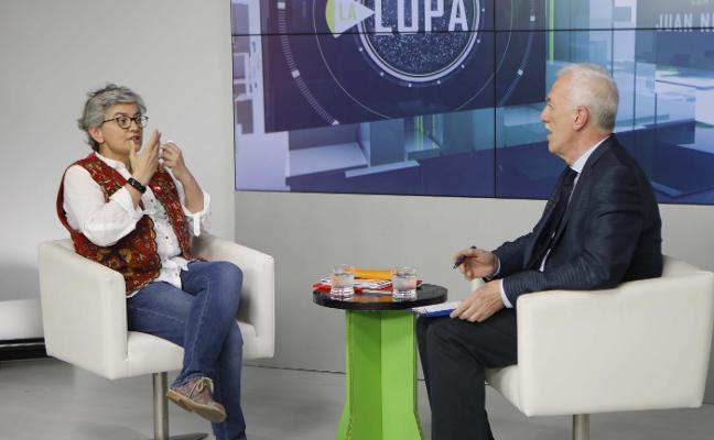 Ana González: «La depuradora del este puede estar totalmente operativa antes de dos años»